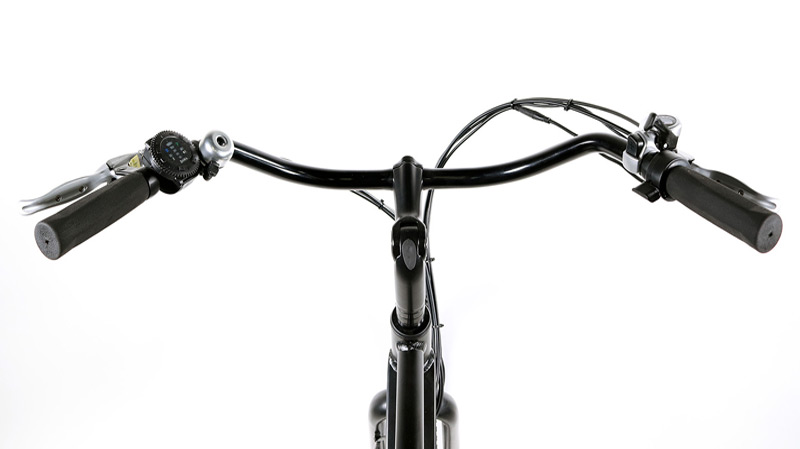 Electric Bike Rental Handle Bar Close Up Board Members