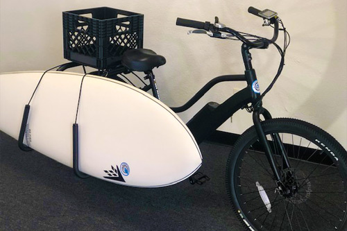Electric Bike Rental Surf Sled