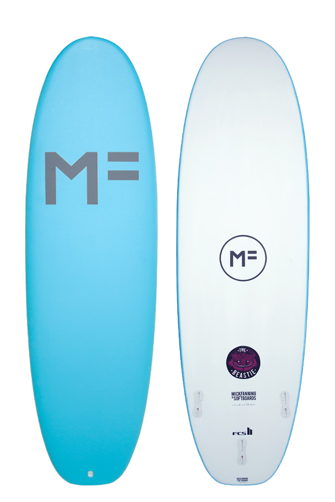 Mick Fanning Beastie Soft Top Surfboard Rental