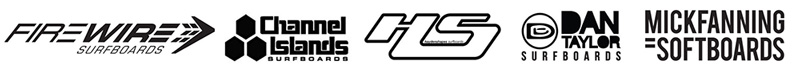 Surfboard Rental Logos Board Members