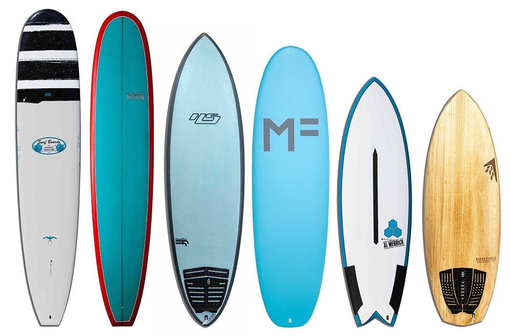 Surfboard Rental Quiver Board Members