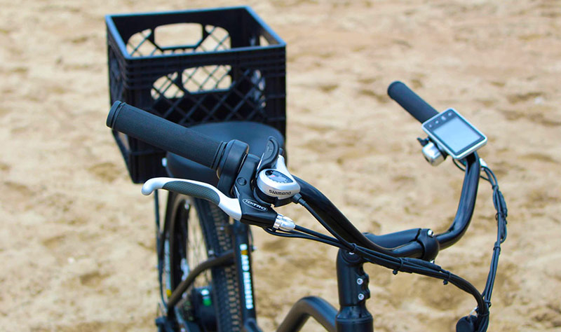 Electric Bike Rental Handle Bars