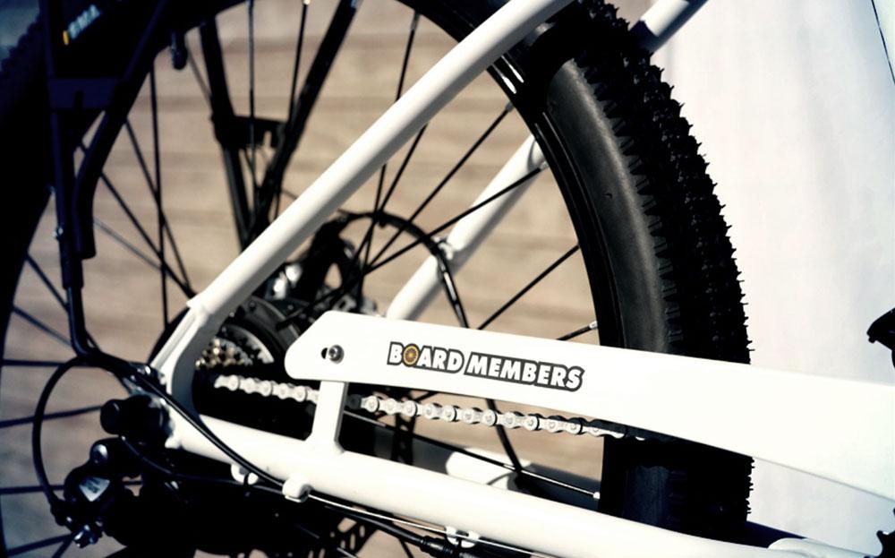 Board Members Electric Bike Wheel