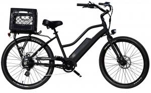 Electric Bike Black Beach Cruiser