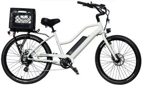 Electric Bike White BM Bikes