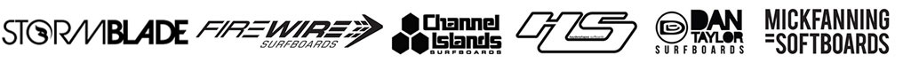 Surfboard Rental Logos